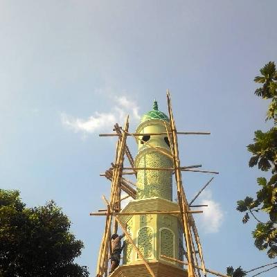 GRC Bekasi GRC Jakarta GRC Murah GRC Board Murah Menara Masjid Al-Muhajirin Bukit Kencana Pondok