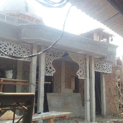 GRC Bekasi GRC Jakarta GRC Murah GRC Board Murah Krawangan Masjid Kronjo - Tanggerang